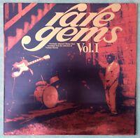 VARIOUS ARTISTS~RARE GEMS VOL.1~1978 UK 11-TRACK MONO VINYL LP RECORD + INSERT
