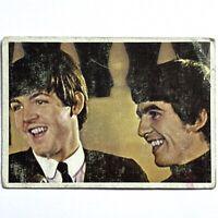 1964 Beatles Diary Cards #37A Paul & Ringo TOPPS TCG John Speaking