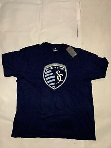 New Men's Original Fanatics MLS Sporting Kansas City T-shirt Sz 3XL