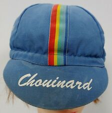 Vtg 80s Chouinard Equipment Alpinists hat cap Hawaiian Shirt cycling Patagonia