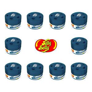 10x Jelly Belly Bean Sweet Gel Can Car Air Freshener Freshner - Blueberry 15514