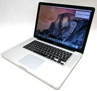 "Apple MacBook Pro A1286 15"" Late-2011 Intel Core i7-2675QM 2.20GHz 8GB 750GB HDD"