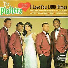 THE PLATTERS i love you 1000 times U.S. MUSICOR LP  MM-2091_orig 1966 MINT SOUL
