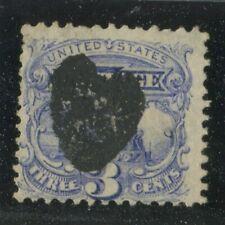"U.S. Stamps Scott #114 Used,Fancy Bold Solid ""heart"" cancel (X5442N)"