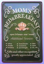 Mom's Bed & Breakfast, tôle bouclier Hôtel mère