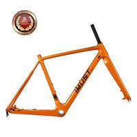 IMUST Carbon Cyclocross Bike Frame CX PRO 58 cm BB86 & Di2 Disc Brake