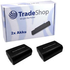 2x AKKU f. SONY HDR-SR12 HDR-SR12E HDR-SR-12E HDR-SR-12