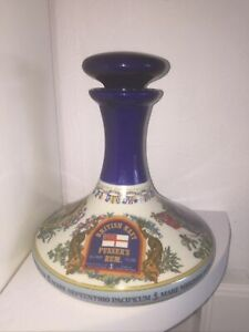 95.5 Pussers Rum 1 Litre Wade HMS Victory Decanter.  Made In England.
