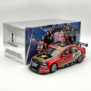 1:18 Classic  HRT 2011 Bathurst winner Holden VE Commodore Nick Percat &Garth #2