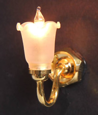Bromley Crafts - Tulip shade wall light