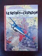 E.P. Jacobs - Blake et Mortimer - Le secret de l'Espadon T2 - Rééd - 1957 - TBE!
