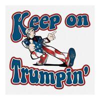 10 pack TRUMP 2020 Sticker Anti-democratic Life GOVT MAGA Can Cxz
