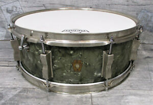 "Ludwig 1964 Jazz Festival Model 908P Snare 14"" x 5""  Black Diamond Pearl"