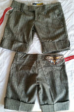 MISS SIXTY 60 pantaloncini lana 40 42 pantaloni donna shorts prezzo stock lotto