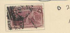 USA 1893 COLUMBUS FRESTORED TO FAVOR MAGENTA 8c