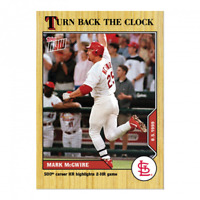 Mark McGwire 2020 MLB TOPPS NOW Turn Back The Clock - Card 128 - Print Run: 553