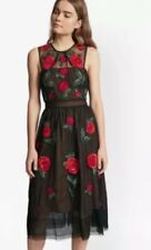 French Connection Amore Embroidered Tulle Sparkle Dress Size 10 BNWT