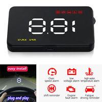 """Auto 3,5 """"HUD Spannung Geschwindigkeit Head Up Display Überdrehzahl Warnsystem"""