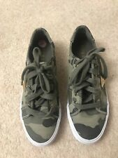 Guess ladies camouflage sneakers UK5 EU37, hardly worn exc condition