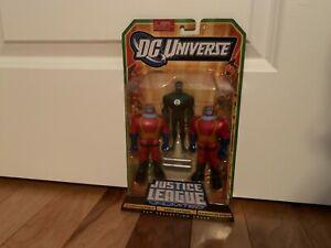 DC Universe Justice League Unlimited 3 Pack, Manhunter Robot, Green Lantern, NIB