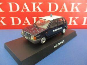 Die cast 1/43 Modellino Auto Carabinieri Fiat Uno 1985