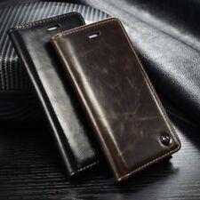 Handy Schutzhülle für iPhone 6 Kunstleder Schwarz caseMe