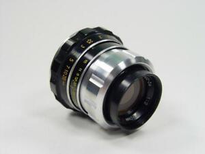 LOMO OKC PO3-3M f/2 50 Leica Zenit USSR Planar #011687 M39 micro 4/3 BlackMagic