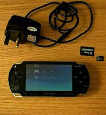 Sony PlayStation Portable PSP 1003 Video Game Console - Black + 4GB Card
