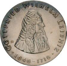 Künker: DDR, 20 Mark 1966 (A), 250. Todestag Gottfried Wilhelm Leibniz, Top!