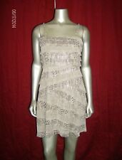 Nine West Women's TieRed Party Dress Champagne Size 4