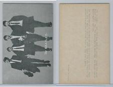 1960's Exhibit, Male Music Artists - BIO Backs, Beatles, (J), ZQL