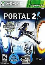Portal 2 Platinum Hits (Microsoft Xbox 360, 2012)