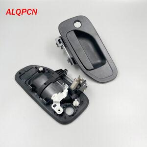 1 pair Front door outer handle black for nissan urvan NV350 E26 2013-2019