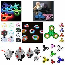 EDC Fidget Spinner Toy Tri Hand Spinner Stress&Anxiety Relief-MIXED LOT OF 100