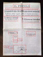 WW2-GROSSE NUBI DI FUMO COPROMO IL CIELO DI LONDRA-DEL10-09-1940 N.1765