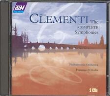 CLEMENTI - Complete Symphonies / 2 Overtures - Francesco D'AVALOS - ASV 2CDs