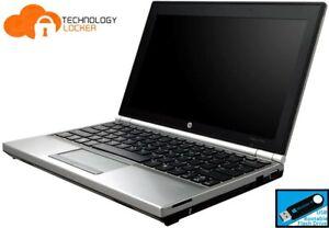 """HP EliteBook 2170p 11.6"""" Intel i7-3667U 8GB RAM 128GB SSD Win 10 Pro w/ Cellular"""
