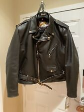 Schott Perfecto  Brown  618 Steerhide Leather Double Riders Jacket 54 New