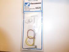 Viessmann 6626 N Bausatz Bahnsteigleuchte, LED weiß NEU & OVP
