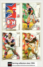 2002 Select NRL Challenge Series Base Card Team Set SYDNEY CITY ROOSTERS(12)