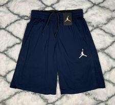 Air Jordan Dri-Fit Team Basketball Shorts Blue Men's Size S *New* 865844-419