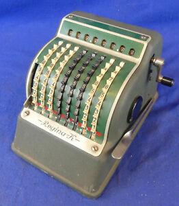Regina K - Rechenmaschine calculator - Samlg. Muckermann - 1654