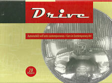 """""""DRIVE: CARS IN CONTEMPORARY ART"""" 20 POSTERS BOLOGNA GALLERY OF MODERN ART NIB"""
