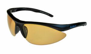BluWater Islanders 2 Polarised Sunglasses Black/Brown-Photochromic ML