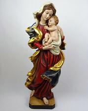 Holzfigur Madonna mit Kind 70cm, MADONNA BAROCK, Holz geschnitzt Südtirol