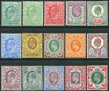 1902-1910 Sg 215-Sg 259 De La Rue Unmounted Mint Condition Single Stamps