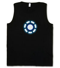 Arc Reactor II Tank Top Gym T-Shirt Iron Avengers Tony Stark Mark on invincible