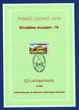 LATVIA LETLAND LOT OF 6 FDC 1994-1998s 1