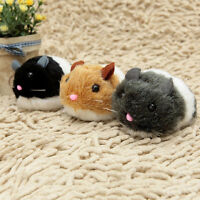 Vibrating Chubby Rat Tease Catten Toy Plush Mouse Cats Interactive Pet Toy .