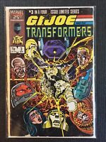 GI Joe & The Transformers #3 Marvel Comics Combine Shipping